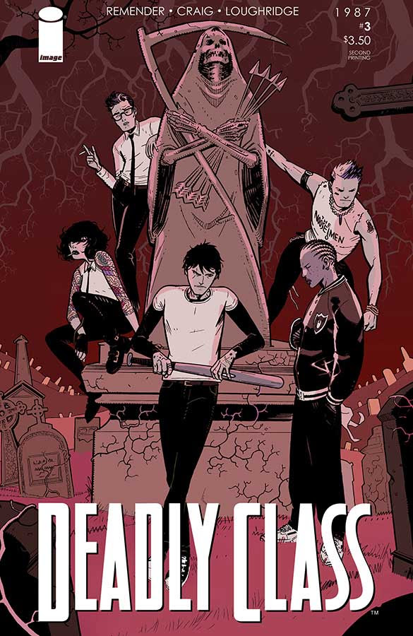 DEADLY CLASS #3 2nd print