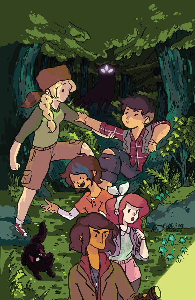 LUMBERJANES Cover B by Madeleine Flores