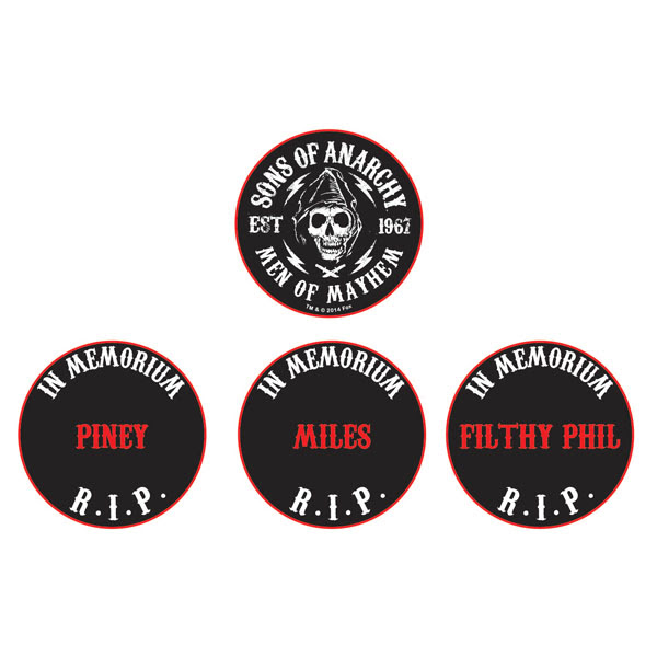 Sons Of Anarchy Limited Edition Memorial Coins 1