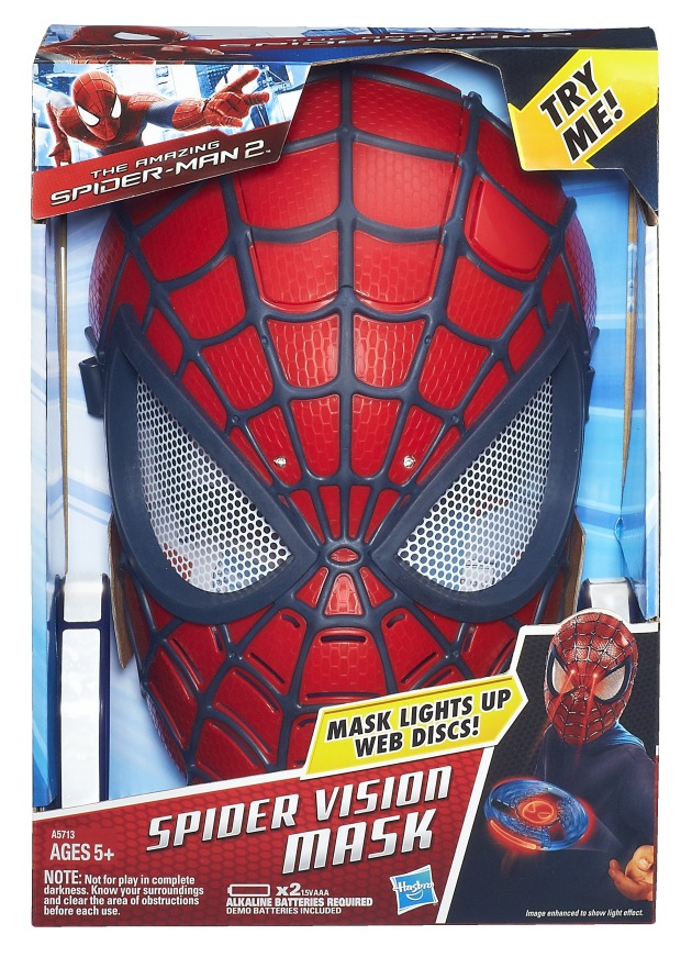 SPIDER-MAN ELECTRONIC SPIDER SENSE MASK In Pack A5713