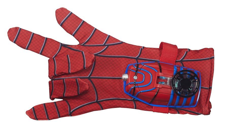 Ninja Man Spider Glove Black And And Spider Man Mask Mask