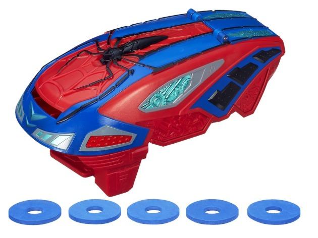 SPIDER-MAN MOTORIZED SPIDER FORCE WEB BLASTER A7407