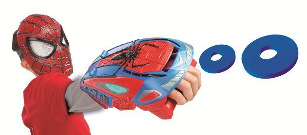 SPIDER-MAN MOTORIZED SPIDER FORCE WEB BLASTER Kid A7407