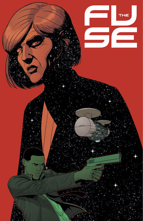 THE FUSE #3 VARIANT COVER BY JAMIE MCKELVIE