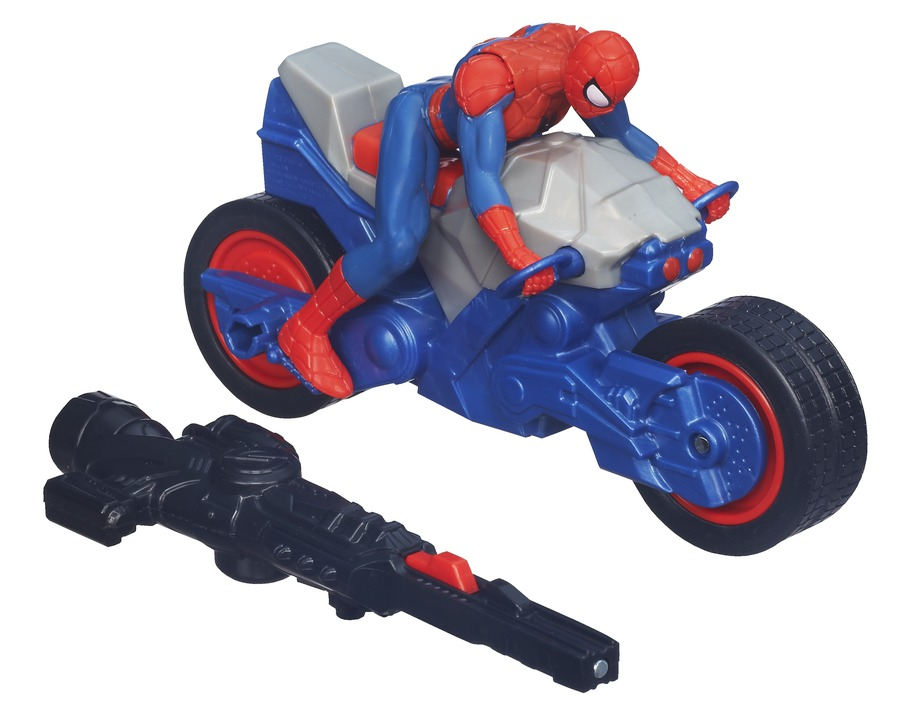 Spiderman bike toy - photo#3