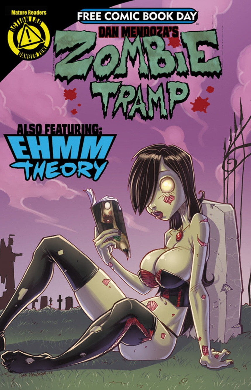 action lab zombie tramp fcbd