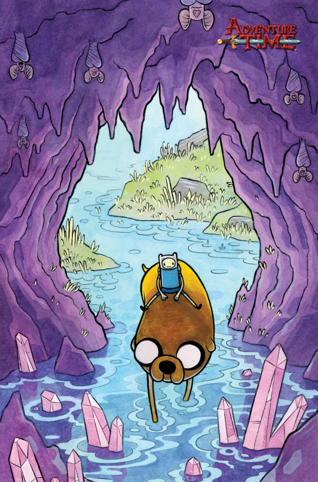 ADVENTURE TIME #27 Calgary Expo Exclusive Cover by Tait Howard