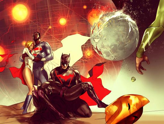 DC Announces Earth 2: World's End Weekly Series