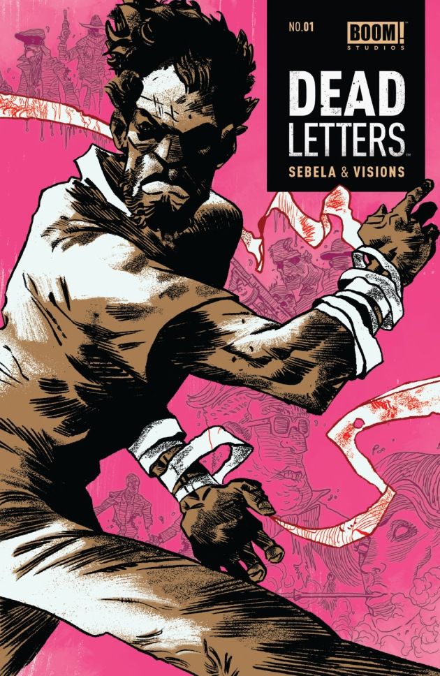 DEAD LETTERS #1 2nd Printing Cover by Artyom Trakhanov