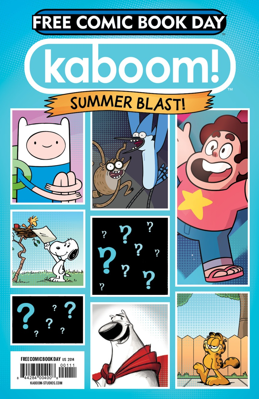 KABOOM! 2014 SUMMER BLAST for Free Comic Book Day