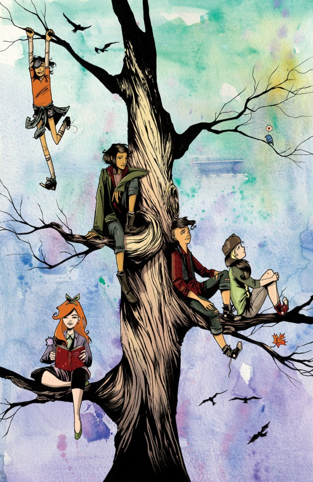LUMBERJANES #1 Calgary Expo Exclusive Cover by Megan Hutchison