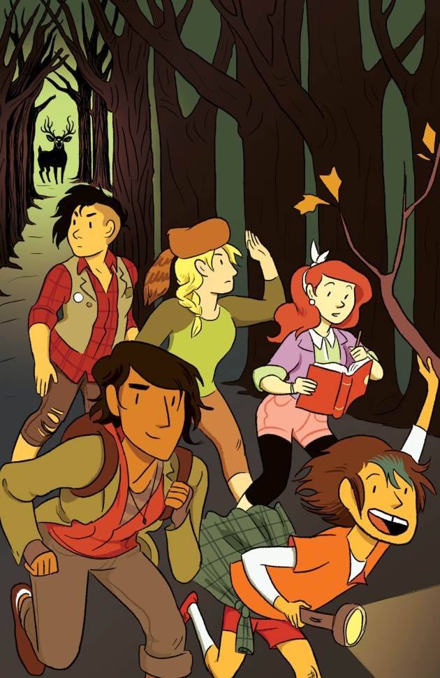 LUMBERJANES #1 WonderCon Exclusive Cover by Jess Fink
