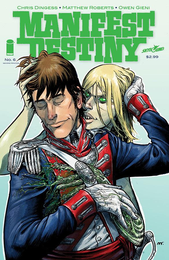 manifest destiny #6 2nd printing