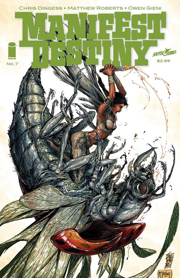 manifest destiny #7 variant cover