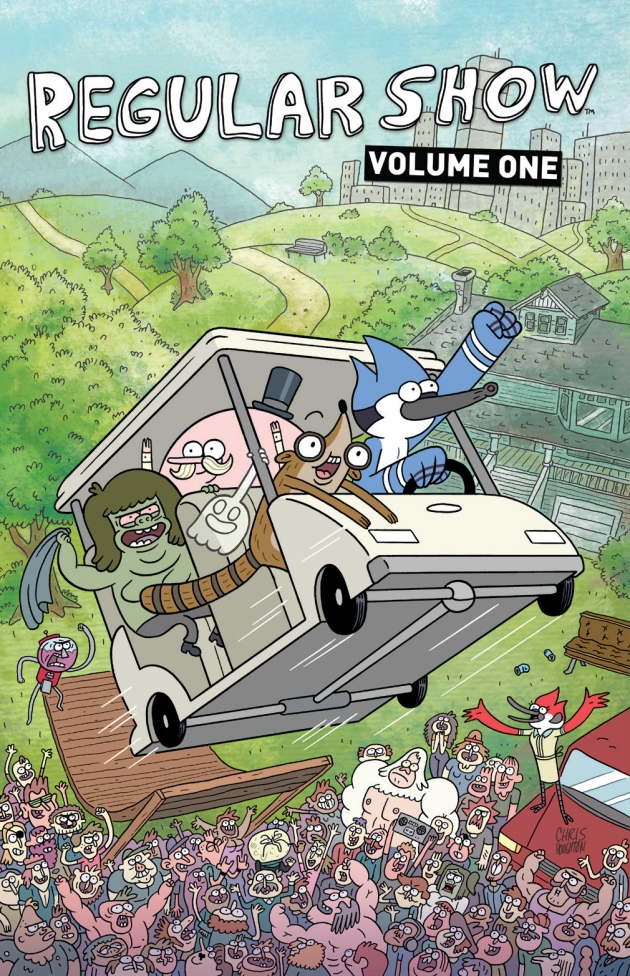 RegularShow_Vol_1_cover