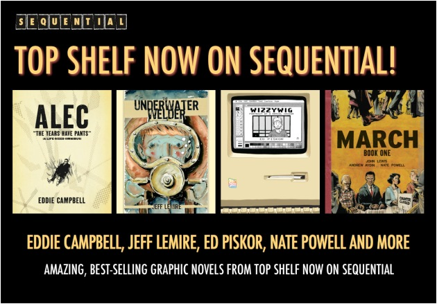 sequential top shelf