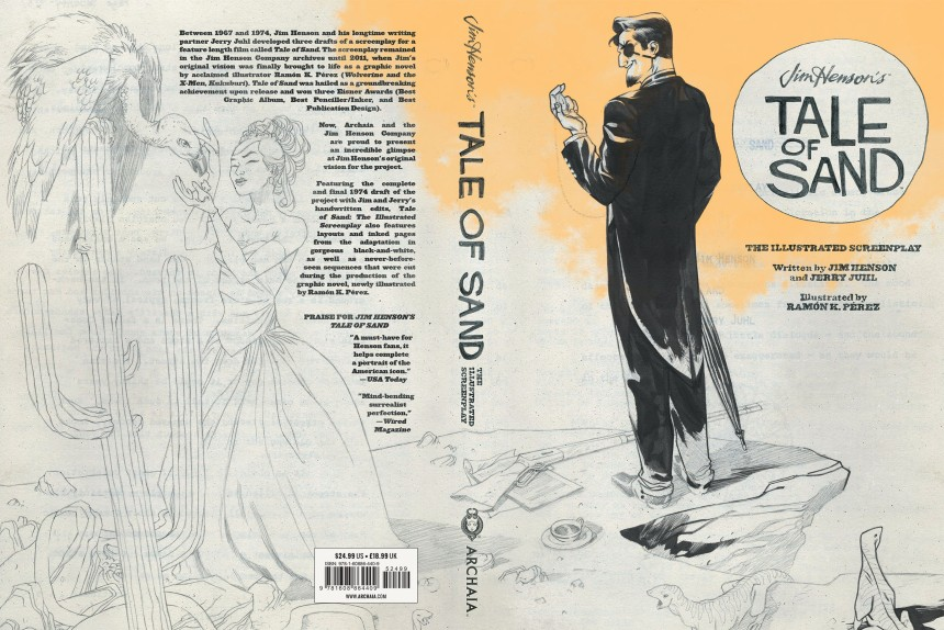 Tale of Sand Illustrated Screenplay Casewrap