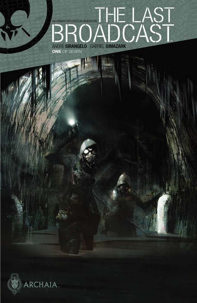 THE LAST BROADCAST #1 Cover by Gabriel Iumazark