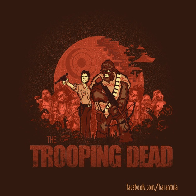 The Trooping Dead