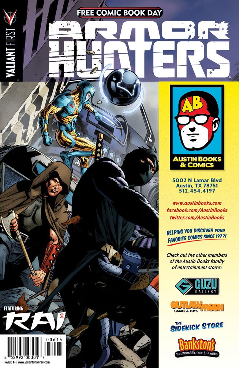 Valiant-FCBD-2014-Retailer-Variant-(Austin-Books-and-Comics)