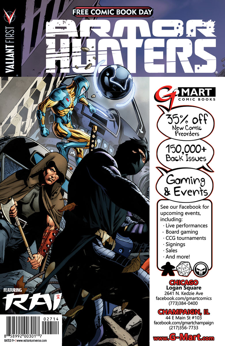 Valiant-FCBD-2014-Retailer-Variant-(G-Mart-Comic-Books)