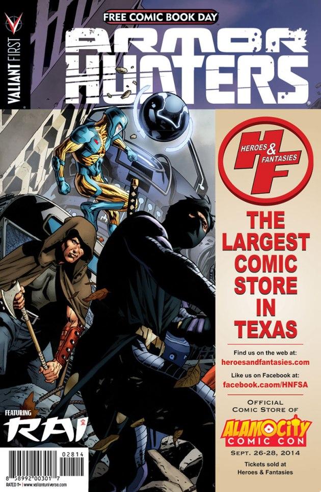 Valiant-FCBD-2014-Retailer-Variant-(Heroes-&-Fantasies)