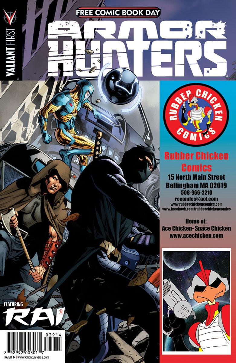 Valiant-FCBD-2014-Retailer-Variant-(Rubber-Chicken-Comics)