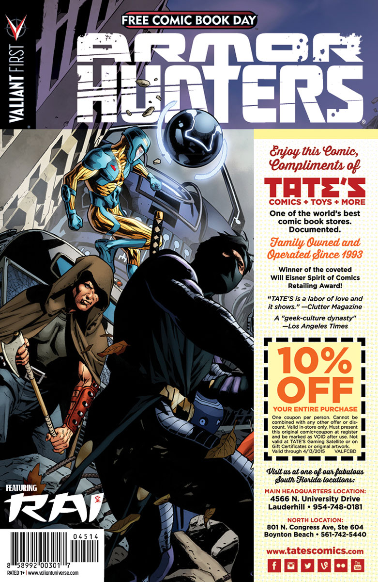 Valiant-FCBD-2014-Retailer-Variant-(Tate's-Comics)