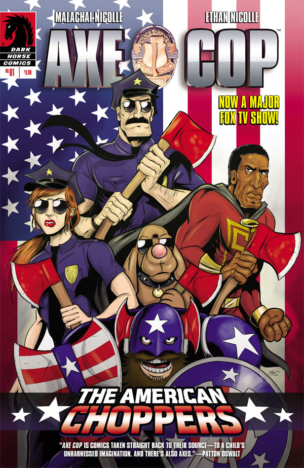 axe cop american choppers 1 cover