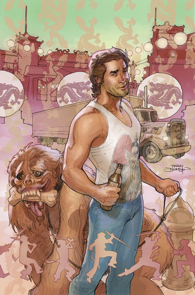 BIG TROUBLE IN LITTLE CHINA #1 Cover D by Terry Dodson