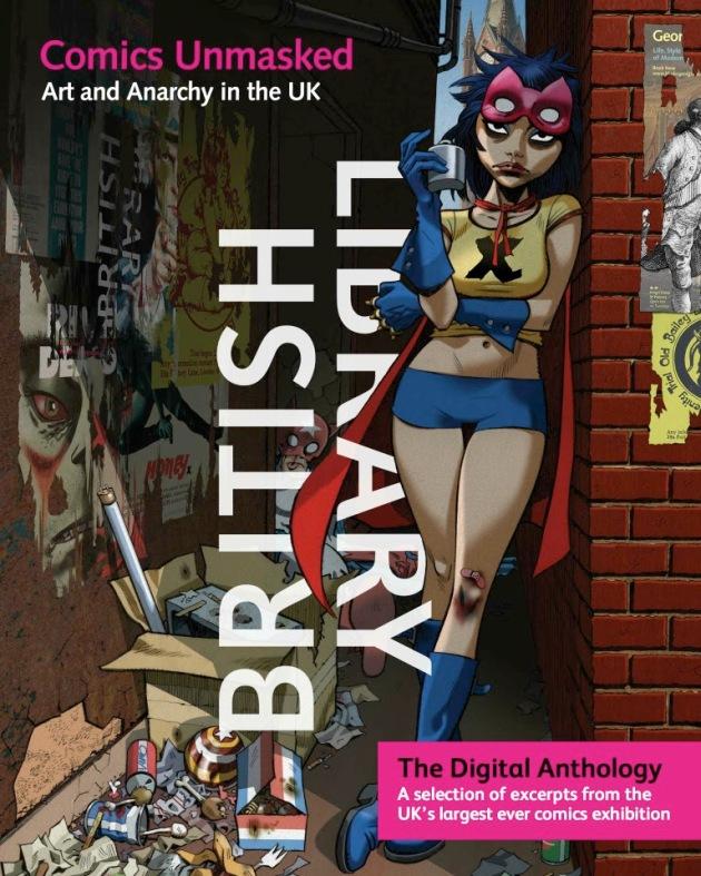 British Library's Comics Unmasked Digital Anthology