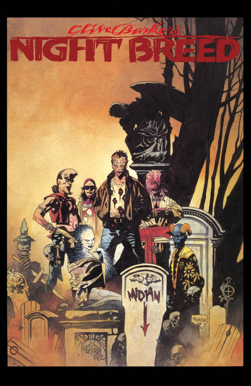 CLIVE BARKER'S NIGHTBREED #1 Cover C by Mike Mignola