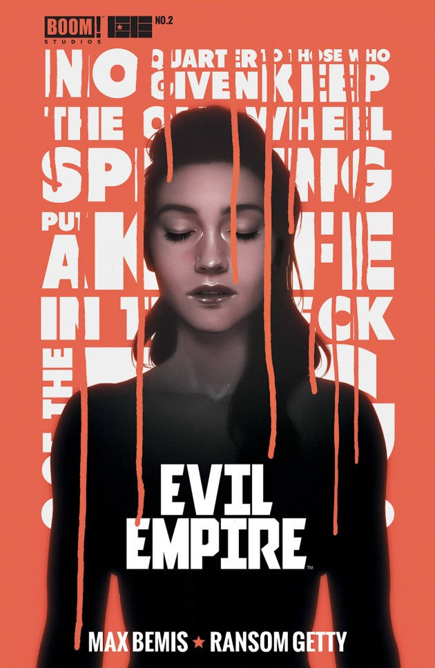 EVIL EMPIRE #2 2nd Print Cover by Andre De Freitas