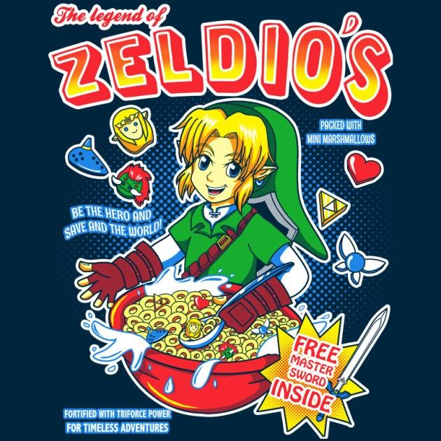 Legend of Zeldios Cereal