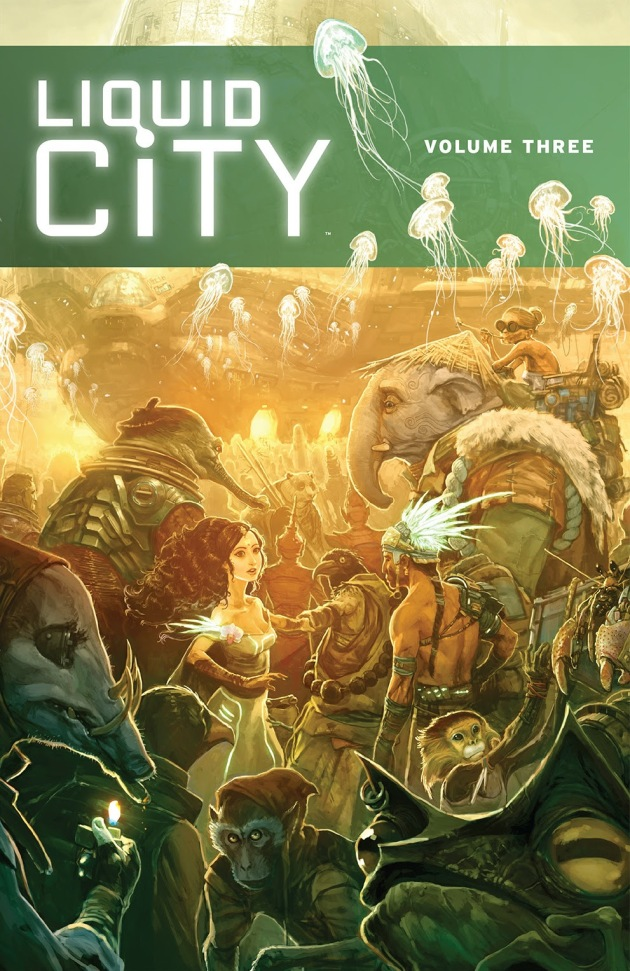 liquid city vol 3 cover