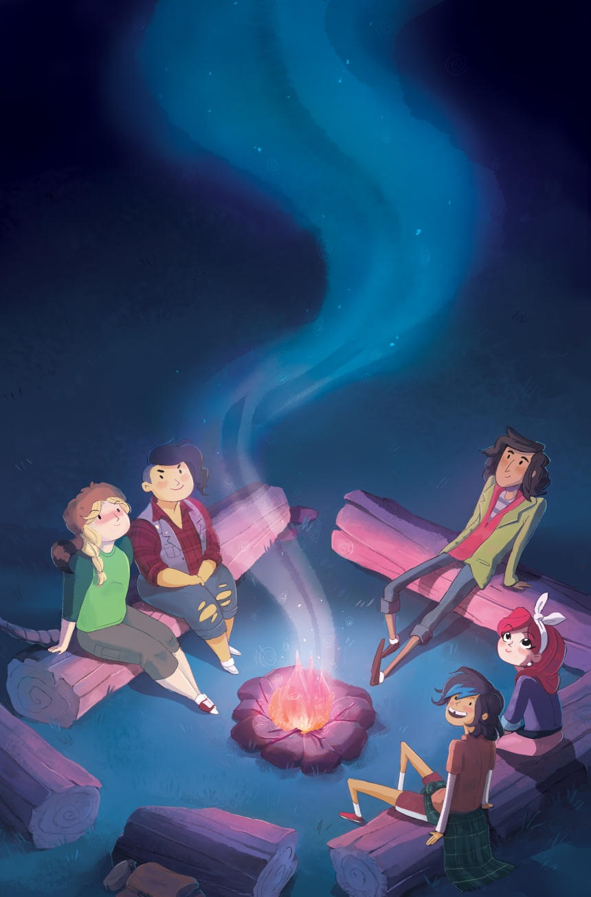 LUMBERJANES #1 2nd Print Cover by Chrystin Garland