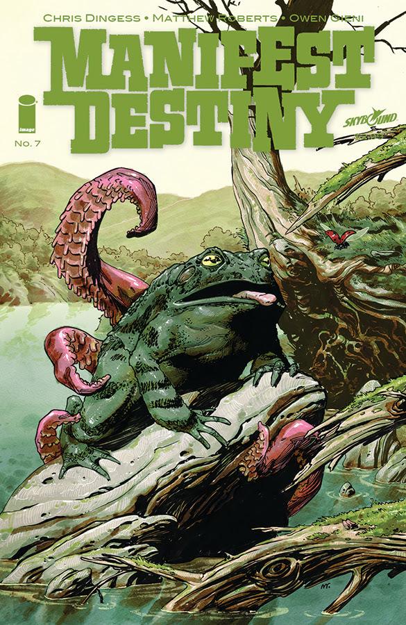 MANIFEST DESTINY #7 cover
