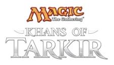 MTG Khans of Tarkir logo