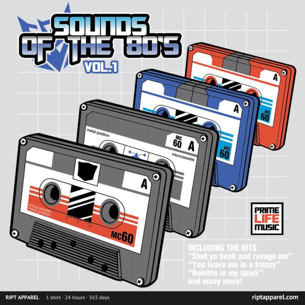 Sounds of the 80s Vol.1 REPRINT
