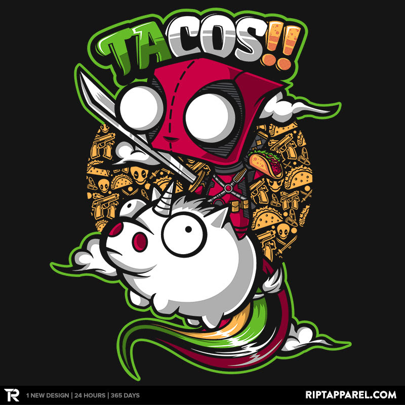 This Is The Graphic Of My Favorite Shirt. Chibi Deadpool
