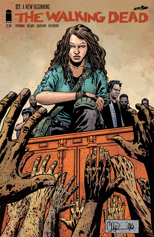 the walking dead 127 cover