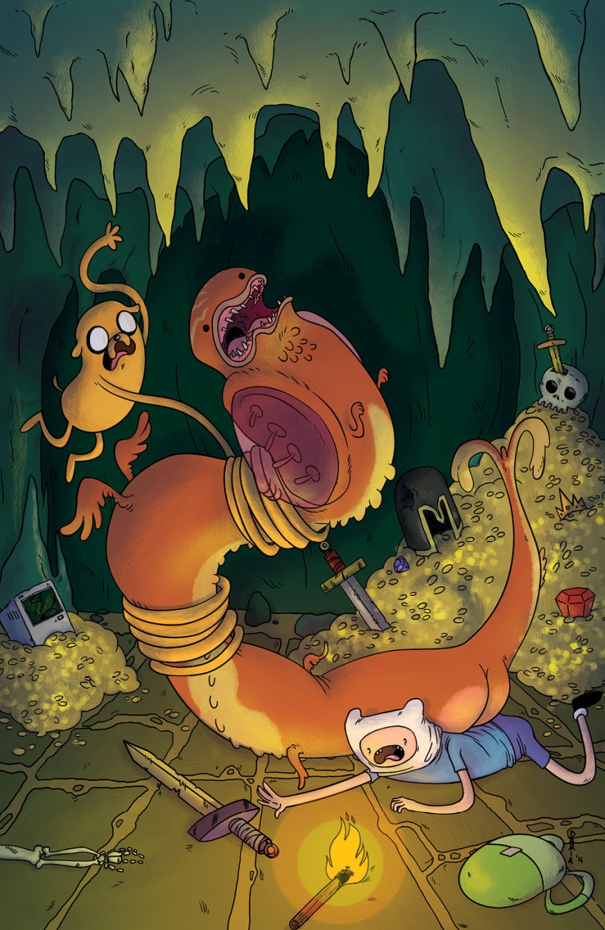 ADVENTURE TIME #29 Denver Comic Con Cover by Daria Montanari
