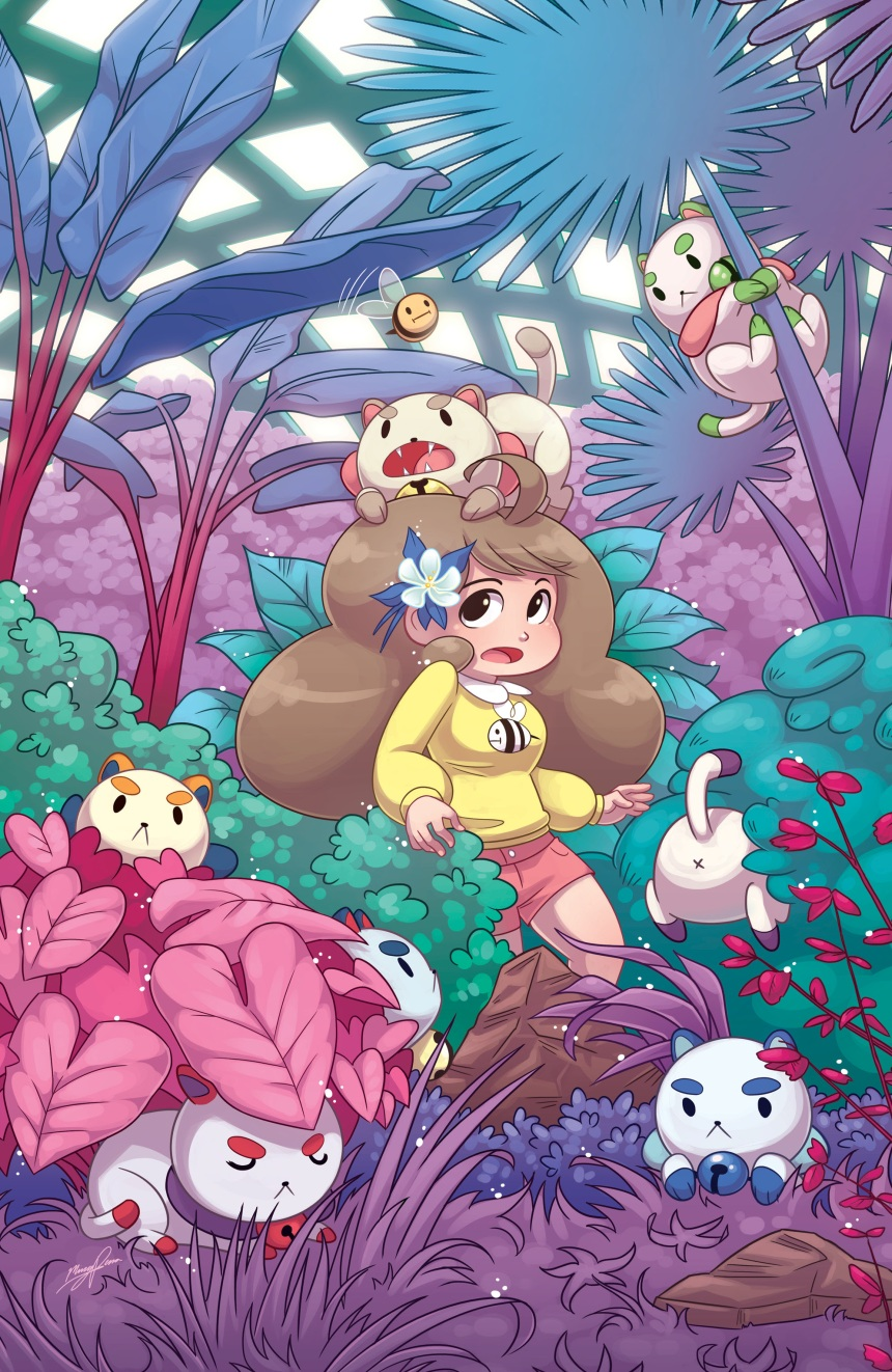 BEE AND PUPPYCAT #1 Denver Comic Con Cover by Missy Pena