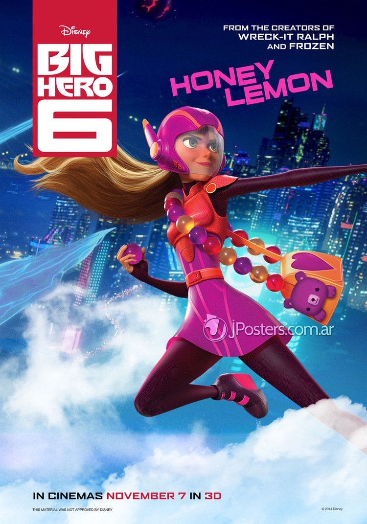 The 6 Key Spring 2019 Trends Confirmed By The Runways: Disney's (Marvel's) Big Hero 6 Gets Character Posters