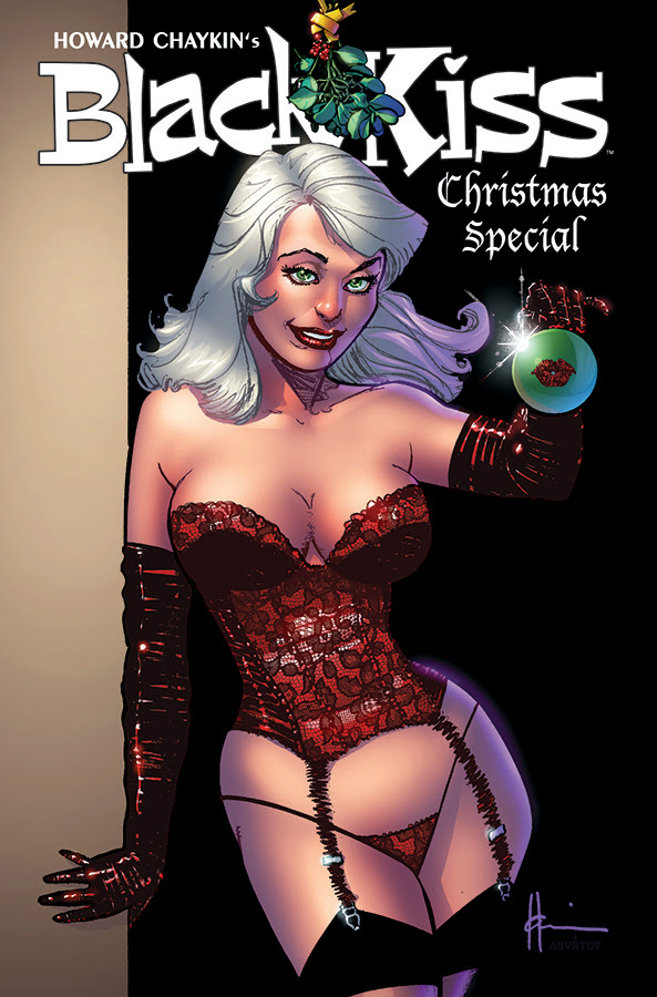 BLACK KISS XXXMAS SPECIAL cover