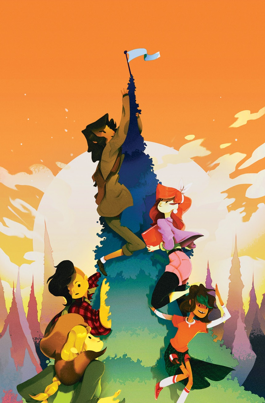 LUMBERJANES #2 2nd Printing Cover by Perry Maple