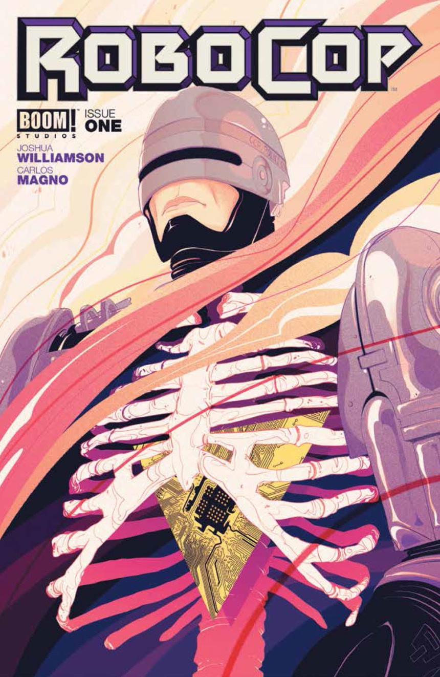 ROBOCOP #1 Cover A by Goñi Montes