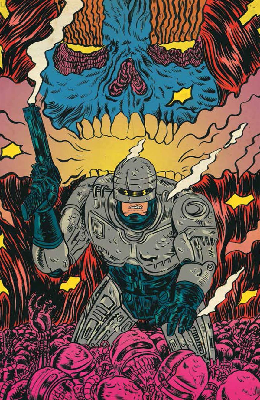 ROBOCOP #1 Cover C by Alexis Ziritt