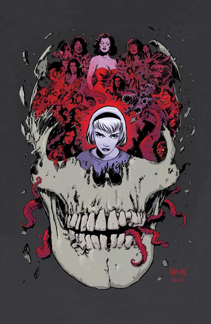 SABRINA #1 cover 2