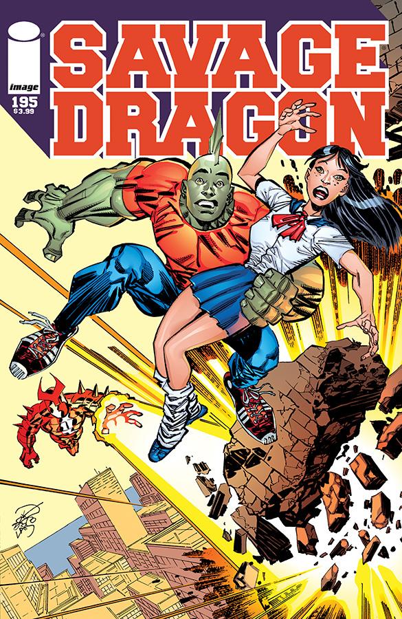 SavageDragon195_Cover